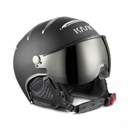 CASCO KASK CHROME PHOTOCHROMIC NEGRO PLATA