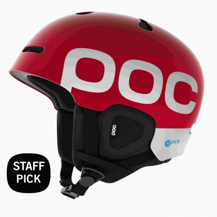 CASCO POC AURIC CUT BC SPIN RED