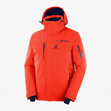 ANORAK SALOMON BRILLANT NARANJA