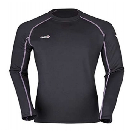 CAMISETA IZAS POLAR BALTOR NEGRA