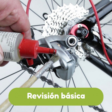 Revisión básica de bicicleta