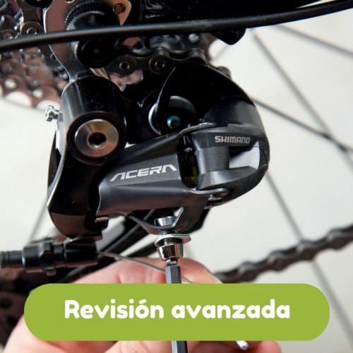Revisión avanzada de bicicleta